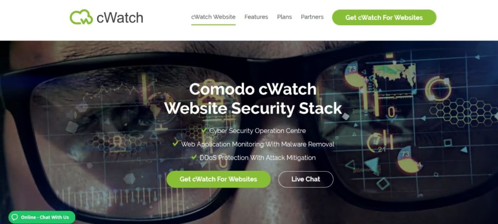 Cwatch Website Security - By Comodo