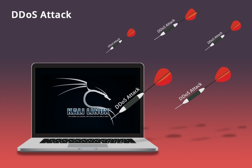 Denial of Service DDoS Attack Using Kali Linux