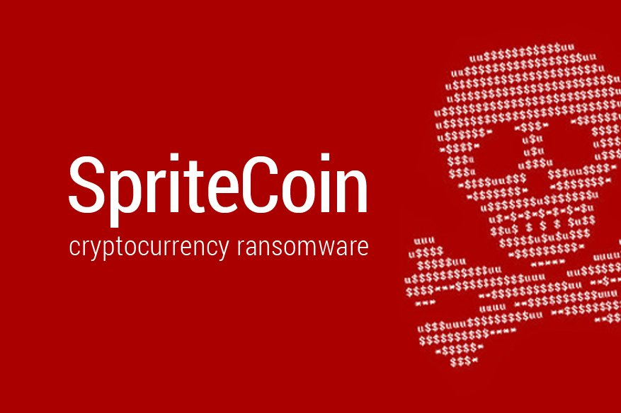 spritecoin cryptocurrency ransomware