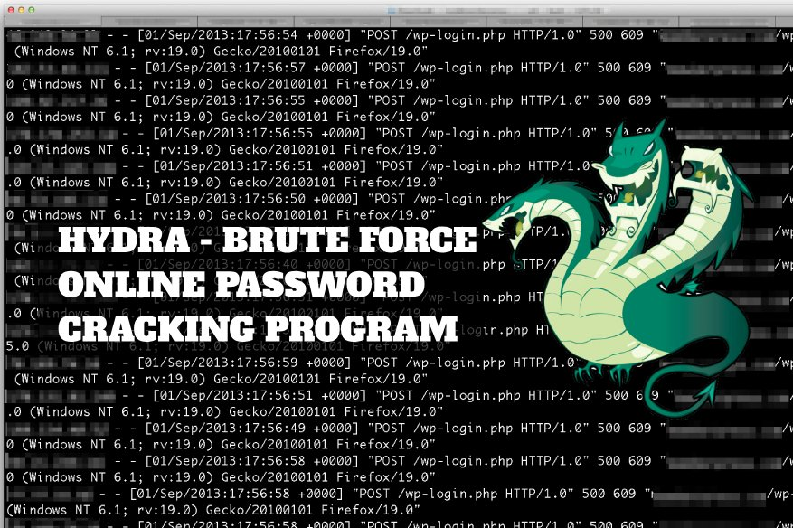 Crack Online Password Using Hydra Brute Force Hacking Tool