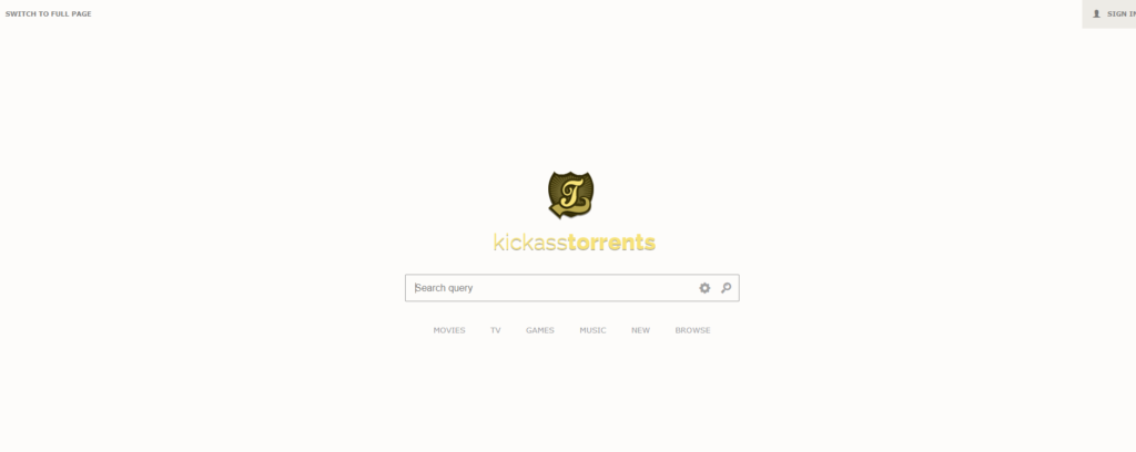 KickassTorrents