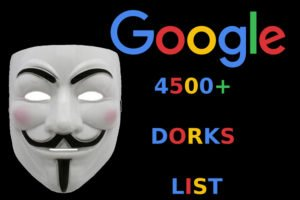 Smart Google Search Queries and 4500+ GOOGLE DORKS LIST