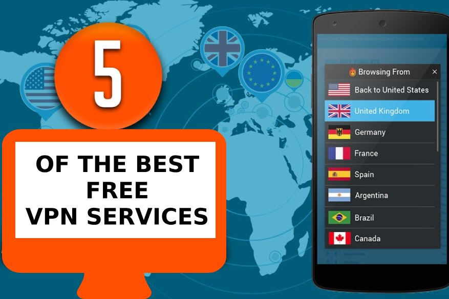 5 OF THE BEST FREE VPN SERVICES