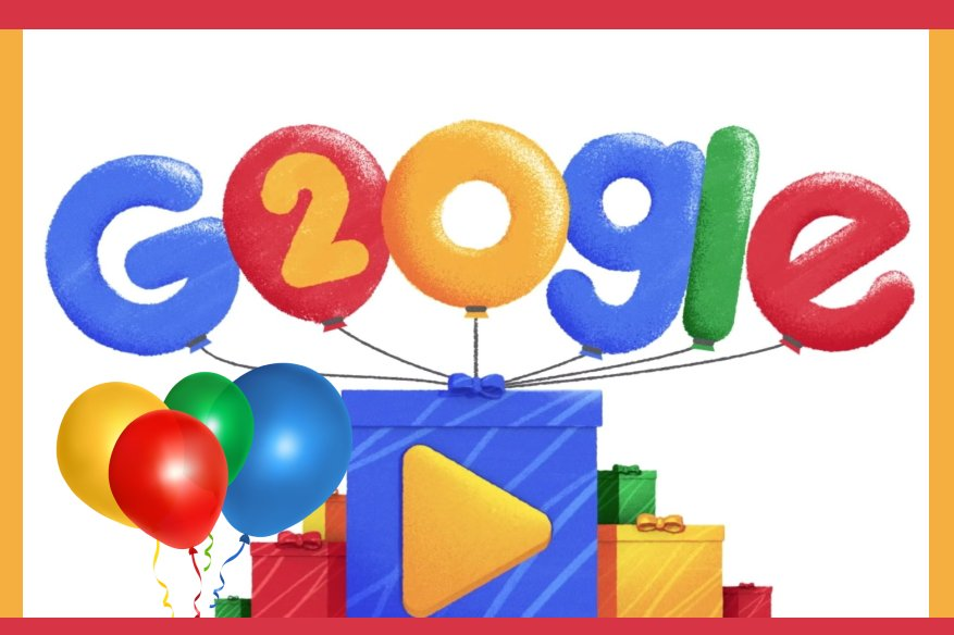 Google's Birthday Doodle to Show 20 Years of Popular Searches