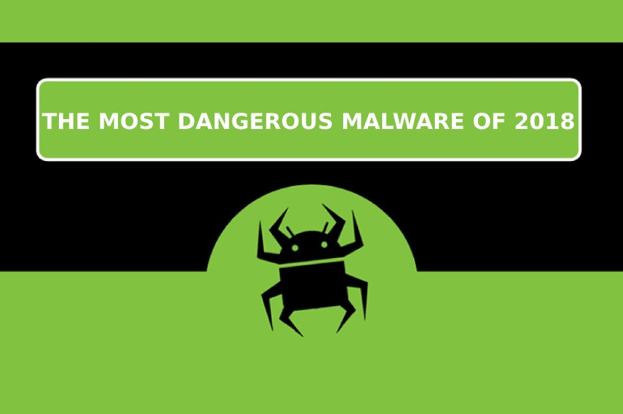 The Most Dangerous Malware of 2018