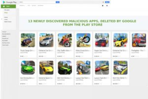 13 Newly Discovered Malicious Apps, Deleted By Google From the Play Store