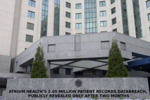 Atrium Health's 2.65 Million Patient Records Databreach, Publicly Revealed Only After Two Months