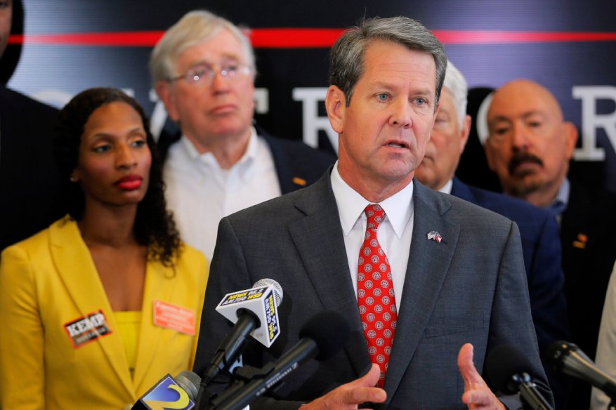 Brian Kemp Accuses Georgia Democrats of Trying To Hack Registration