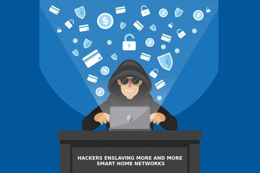 Hackers Enslaving More and More Smart Home Networks