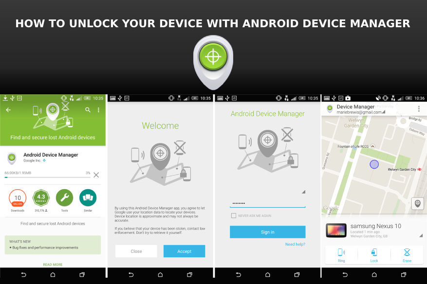 How to Unlock Your Device with Android Device Manager (ADM) -