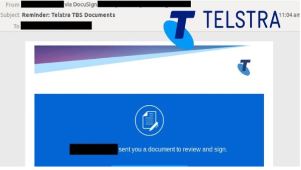 Phishing Exploits Against Telstra