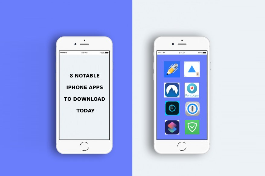 8 Notable iphone apps