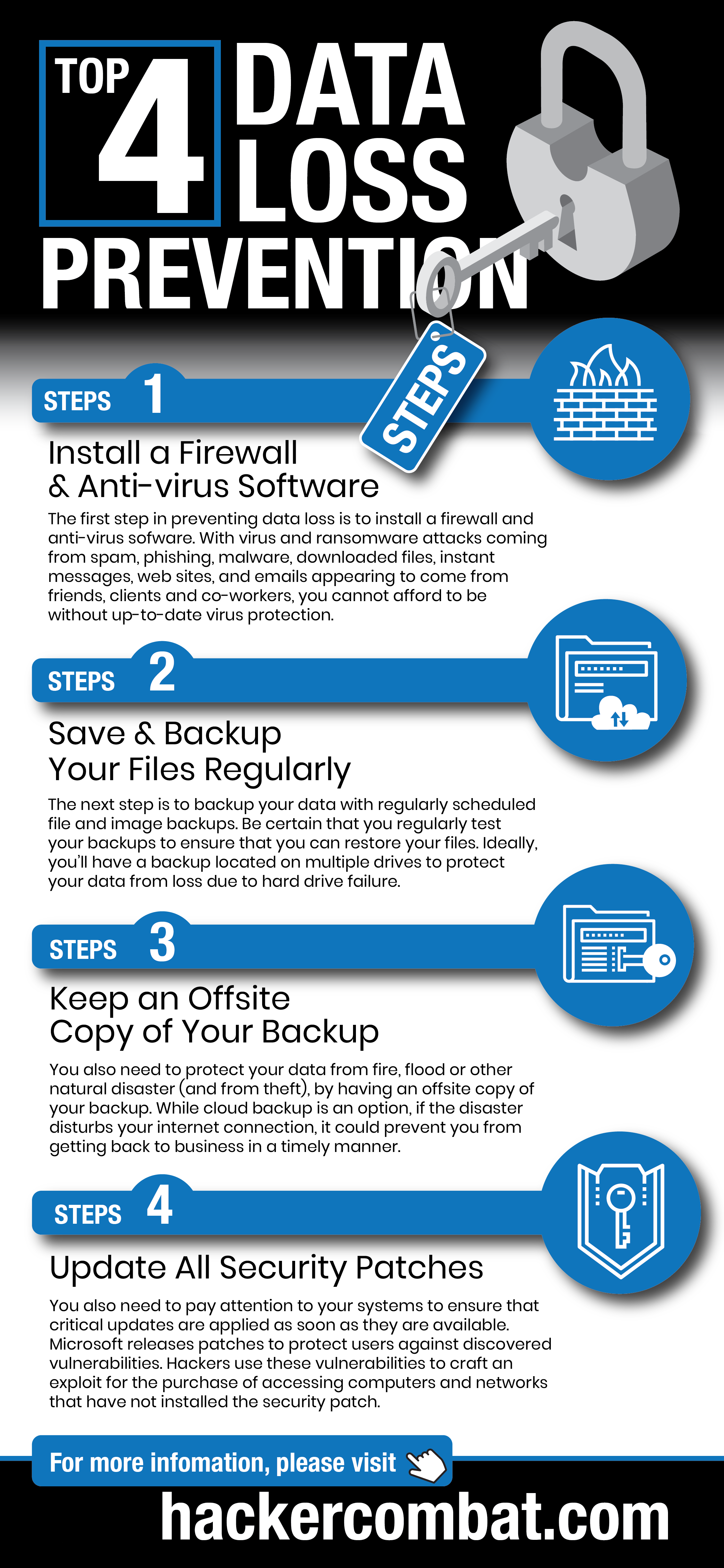 Data Loss Prevention Tips [Infographic]