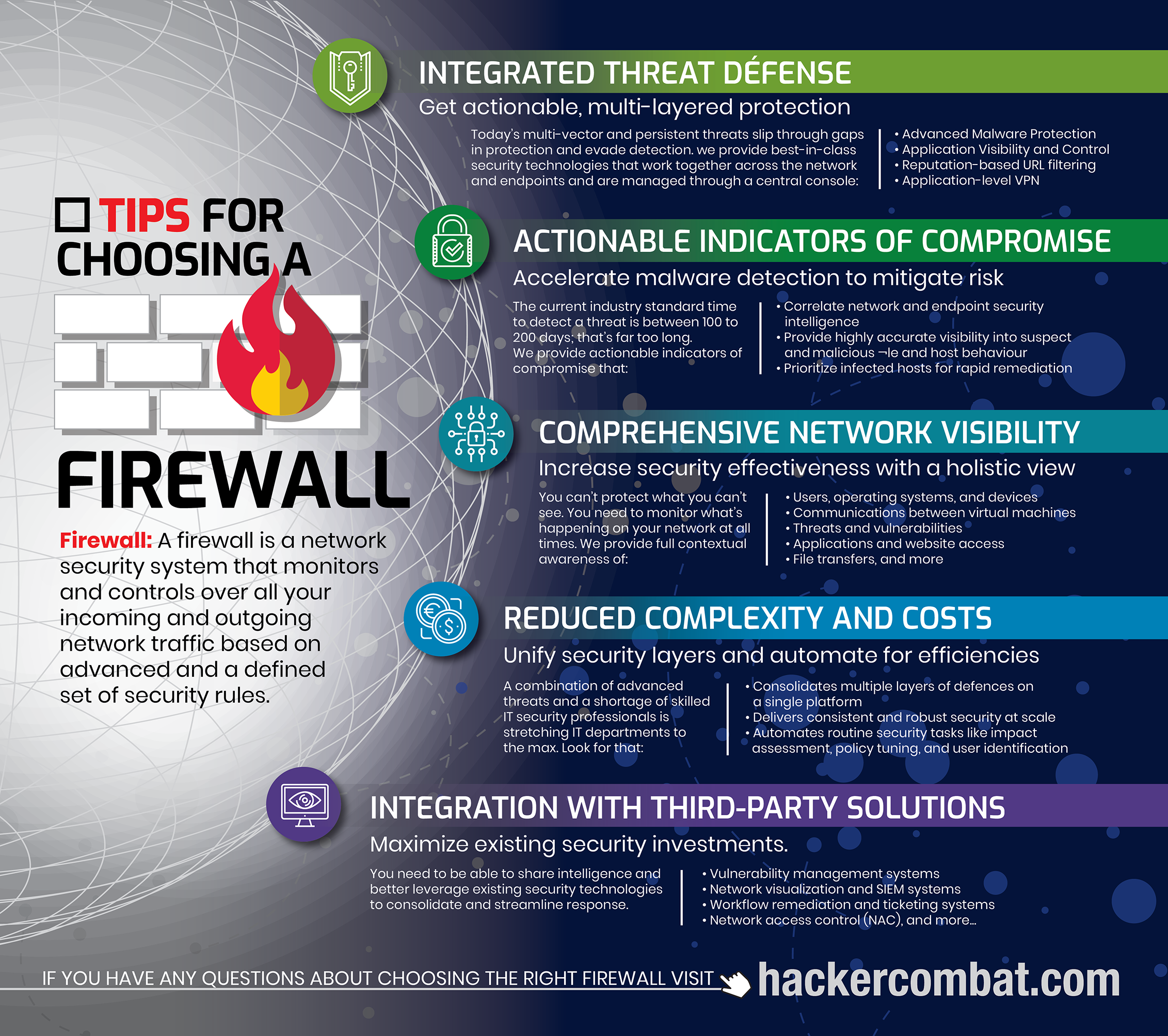 How to Choose a Firewall [Infographic]