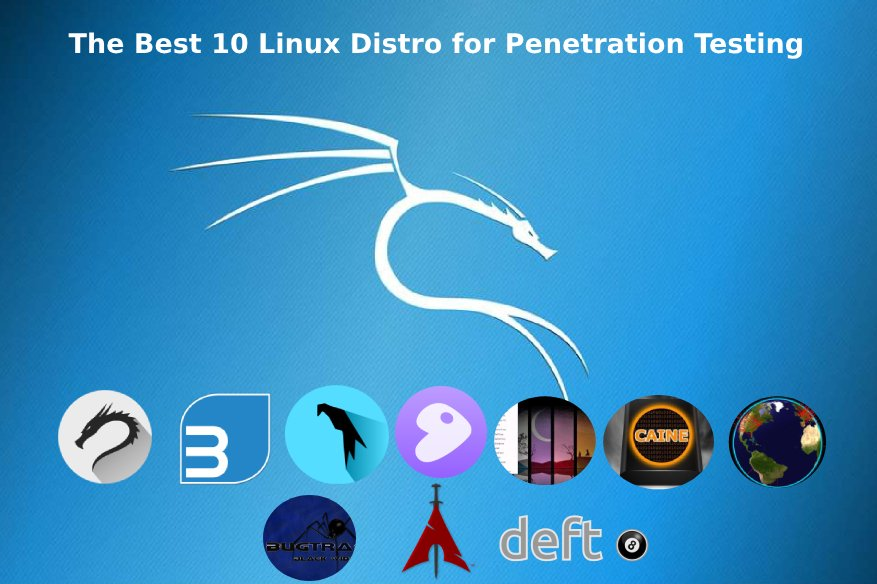 The Best 10 Linux Distro for Penetration Testing
