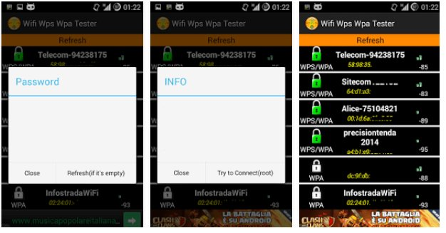application pour wifi android