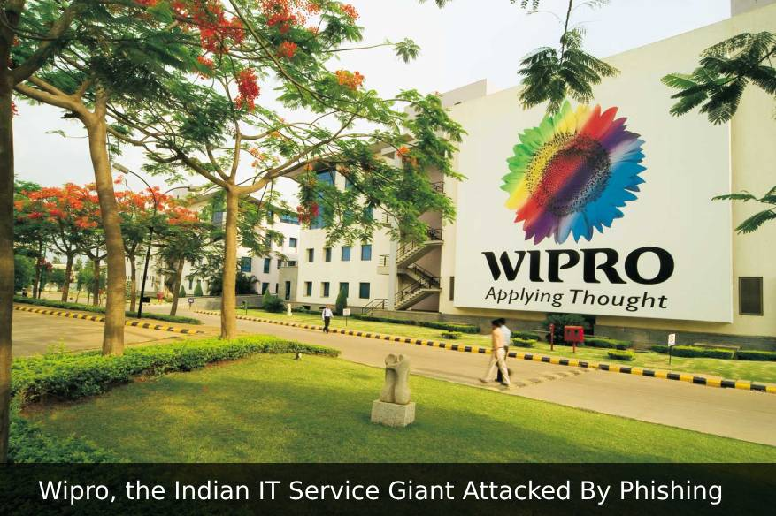 Wipro, the Indian IT Service Giant Attacked By Phishing